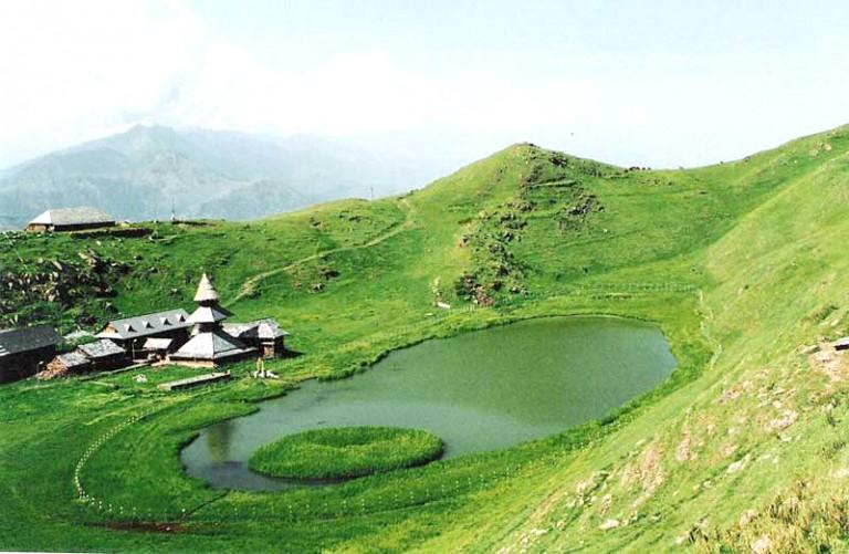 prashar-lake-mandi Himachal Pradesh