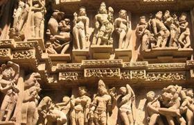 khajuraho taj mahal india tour