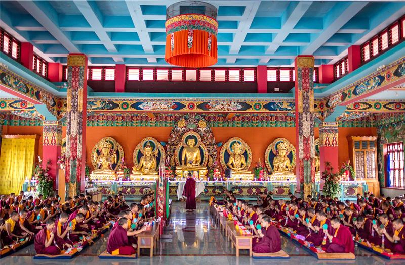 Buddhist ministery Mysore Karnataka