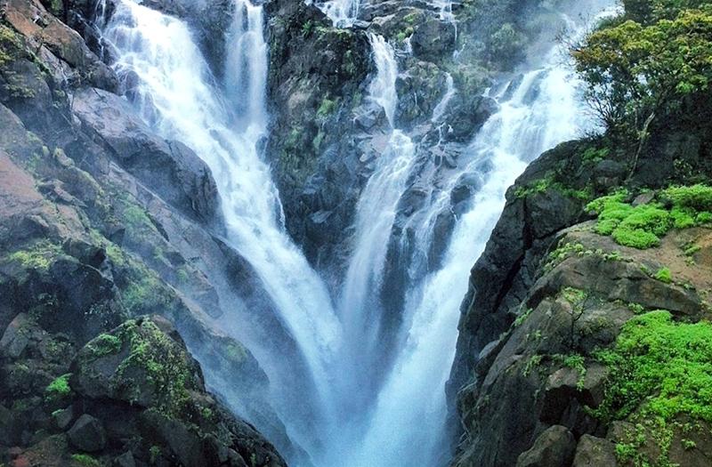 Dudh Sagar Falls Goa India