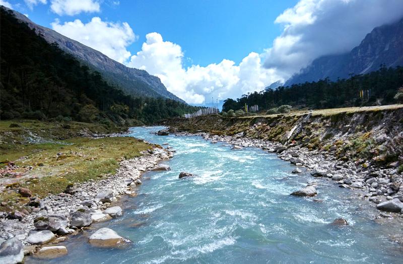 Gangtok River Sikkim