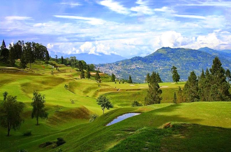 Golf Garden Kalimpong West Bengal India