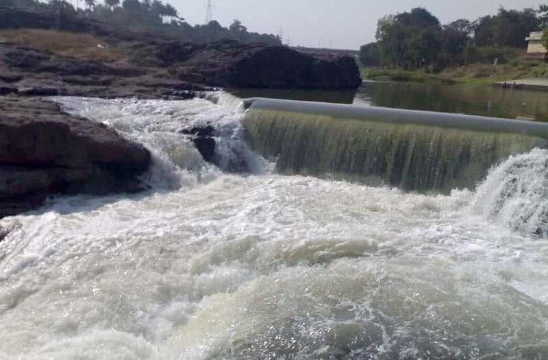 Hogenakkal Water Fall at Kaveri River Tamil Nadu
