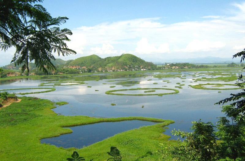 Loktak-lake Imphal Manipur