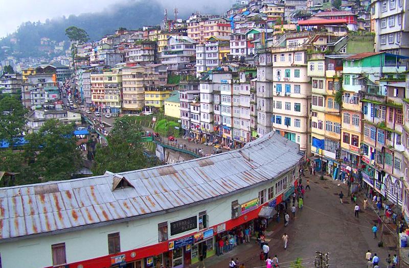 MG-Road-Gangtok Sikkim