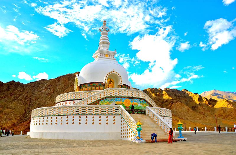 Shanti-Stupa-Nubra-Valley Ladakh
