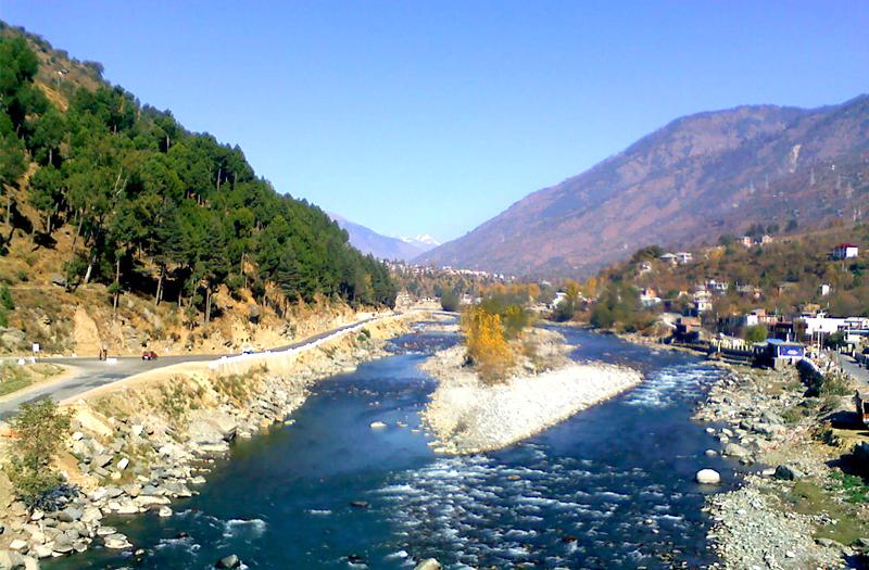 Solang Valley River Manali Himachal Pradesh