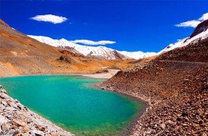 Suraj Tal–Lake of Sun God,Himachal Pradesh India