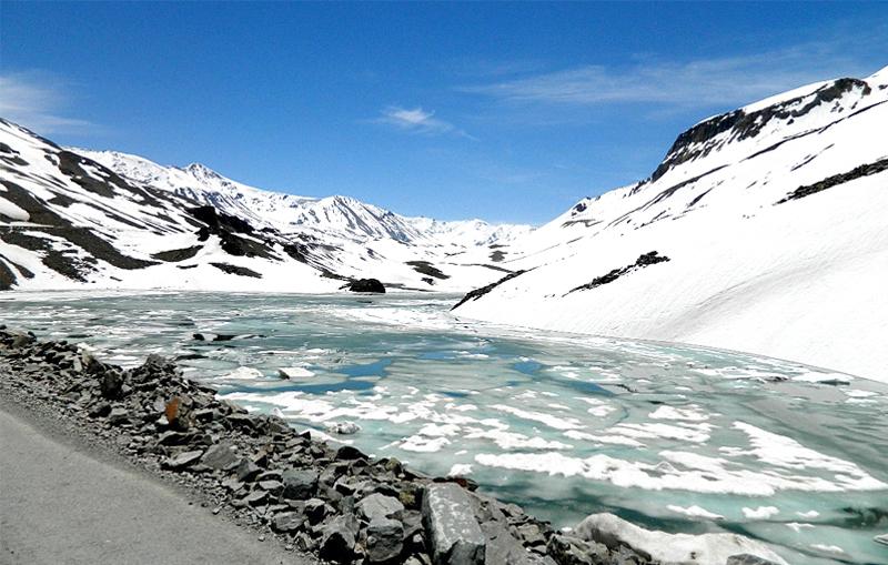 Suraj Tal Lake Himachal Pradesh