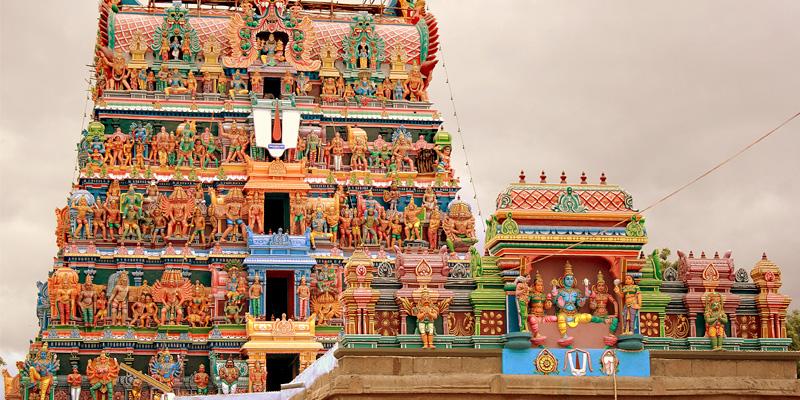 Temple of Trunelveli Tamilnadu India