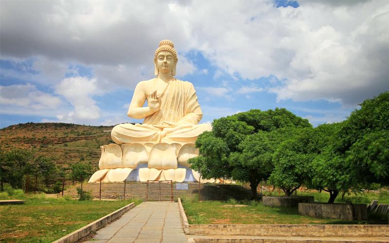 Buddha at Belum Cave Hills Andhra Pradesh