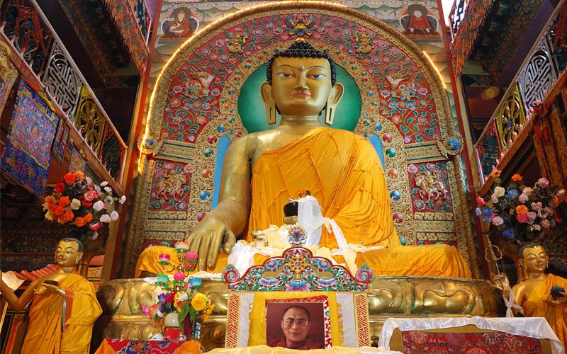 Sakyamuni Buddha Tawang Monestry Arunachal Pradesh