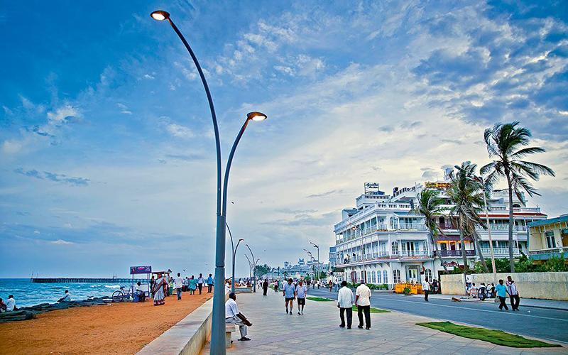 seasidepromenadepondicherry