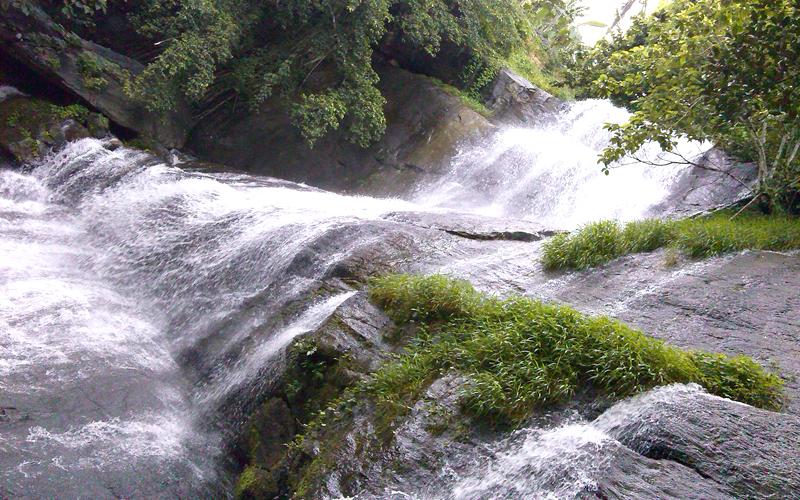 athirapally falls in kochi india