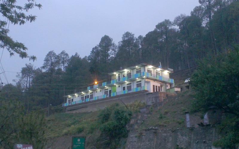 barkot hotel in garhwal india