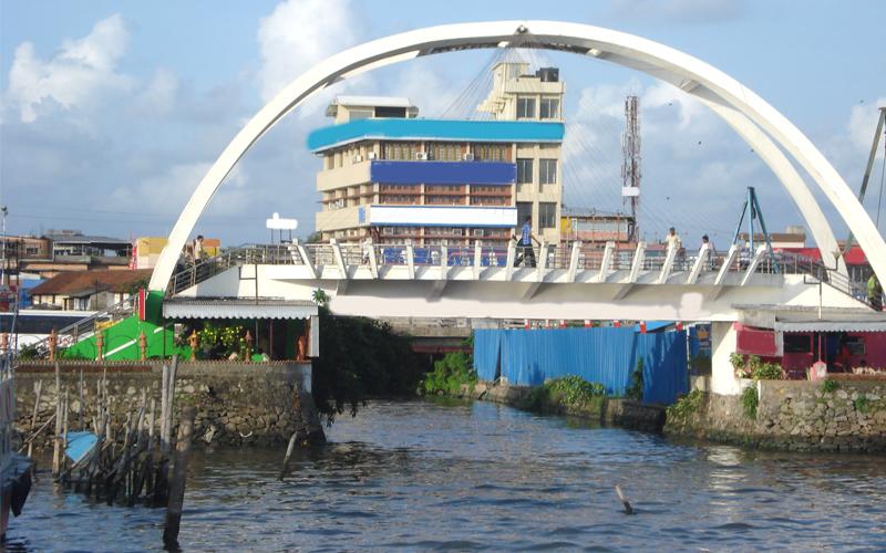 cochin bridge india