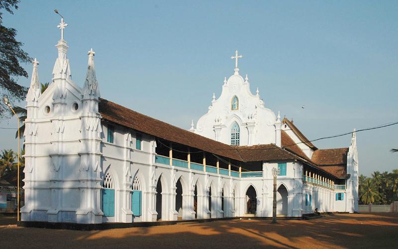 indore white church india