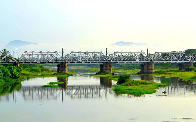sarada river visakhapatnam india
