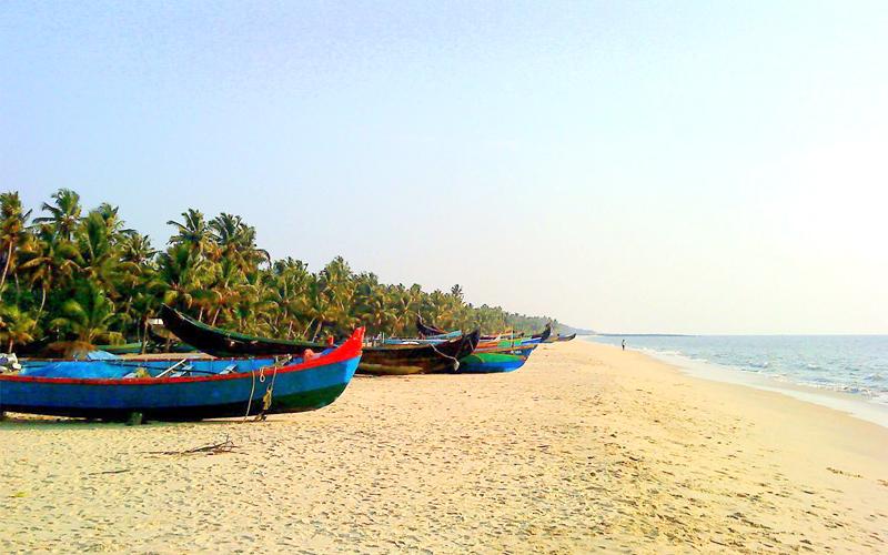 beachs near by kottayam india