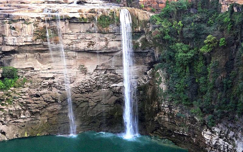 keonti falls in rewa india