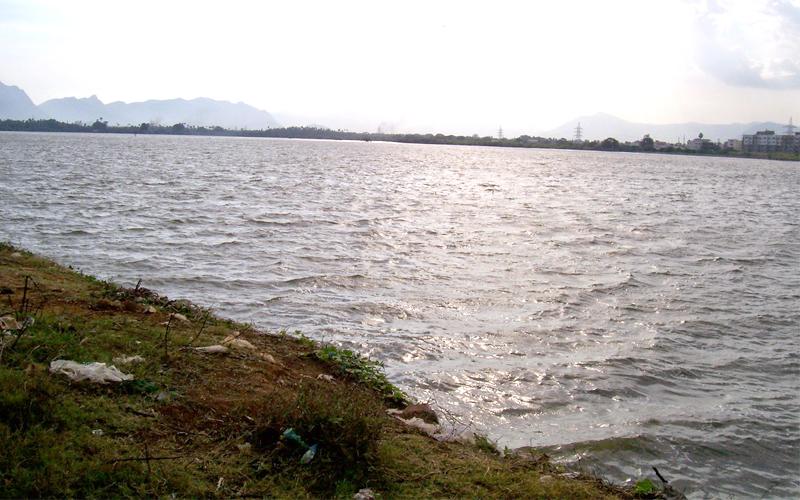 lake in coimbatore india