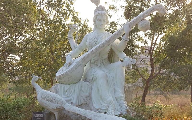 goddess-saraswati-davanagere-india