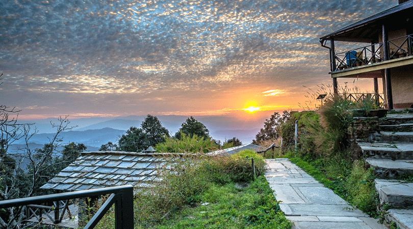 binsar-forest-retreat-sunset
