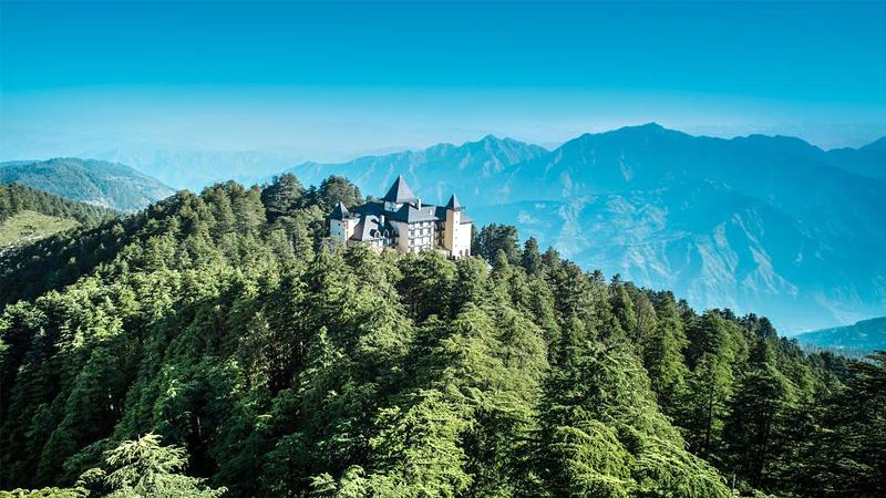 Wildflower Hall Shimla – Luxury in Adobe of Himalayas