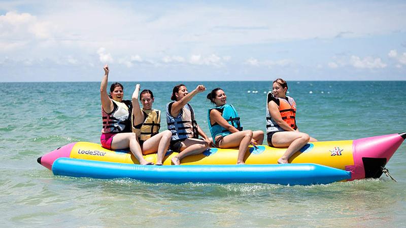 banana-boat-ride-india