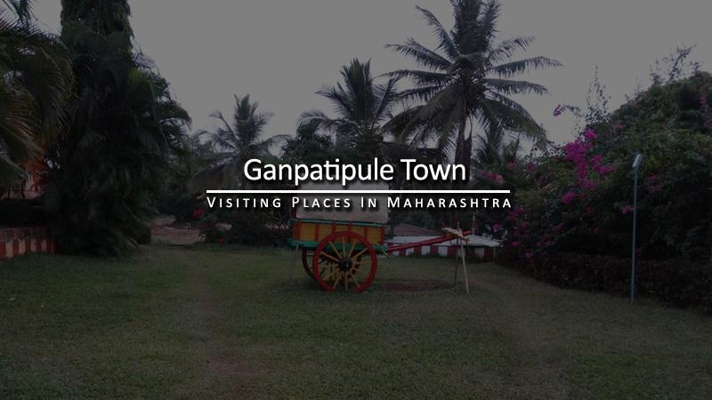 Ganpatipule Town Maharashtra