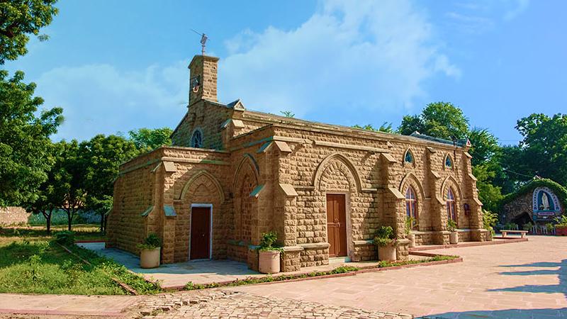 church-at-bandikui