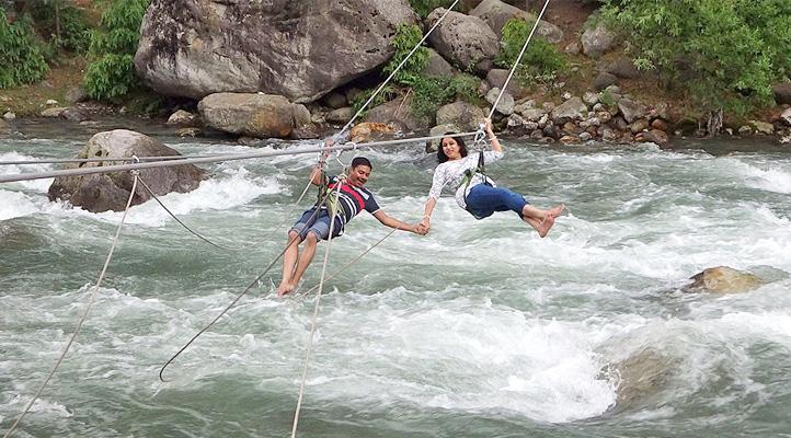 tirthan valley himachal pradesh river rafting
